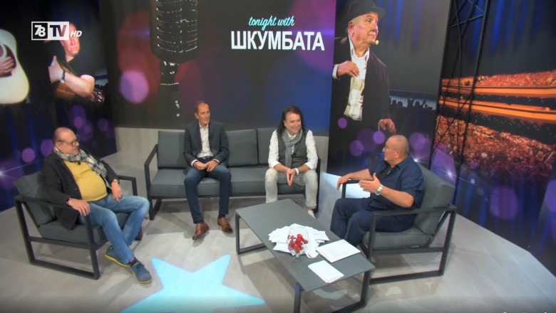 Tonight with Шкумбата